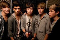 Four words: Boy. Band. One. Direction. :)