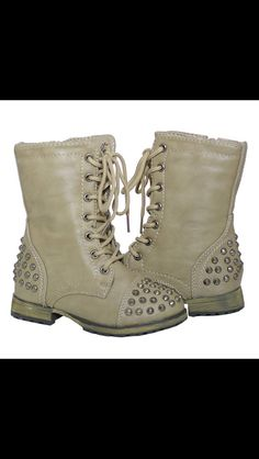 Baby combat boots, I'm dying! Need these for a girl