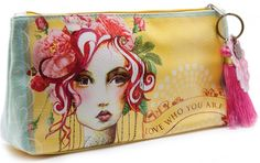 Blue Hand Home - Rose - Small Accessory Pouch, $24.00 (http://www.bluehandhome.com/rose-small-accessory-pouch/)