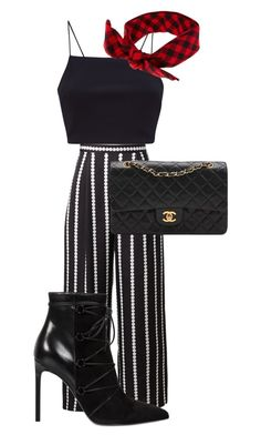 """Untitled #25"" by mehmenoo14 ❤ liked on Polyvore featuring Yves Saint Laurent and Chanel"
