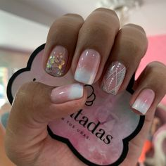 Cute Nails, Pretty Nails, Beauty Nails, Hair Beauty, Short Nails, Pedicure, Nail Art Designs, Makeup, Art Nails