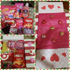 Valentine's Day Care Package for College Students