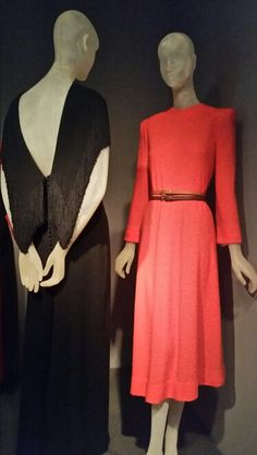 """Reproduction of Claire McCardell's """"Monastic"""" dress, circa 1972, at FAKING IT:  ORIGINALS, COPIES, AND COUNTERFEITS @ The Museum at FIT."""