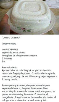 Yolicita mosquera: Google+ Healthy Eating Tips, Healthy Nutrition, Healthy Recipes, Cheese Recipes, Cooking Recipes, Guatemalan Recipes, Tasty, Yummy Food, Vegetable Drinks
