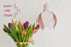 Schöne Idee für eine einfache Lampenfassung