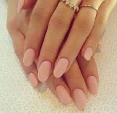 Love these pink matte nails! Also love how natural it looks!