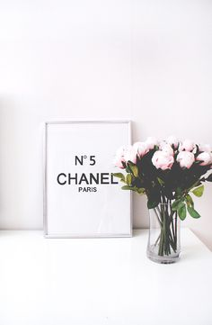 #lounge #chanel #flowers