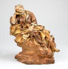 St Joseph Sleeping Domenico Guidi Italian 1625 1701 C 1700