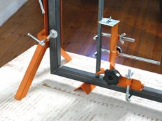 "The Pro-Jig Clamp Set is like an extra pair of hands for the Pro and for the DIY enthusiast. PCT Patent Pending. Please refer to the followingvideo link. http://www.youtube.com/user/clementrobertson?feature=mhum PRO-JIG CLAMPSET The Pro-Jig Clamp Set is an innovative DIY product for theDIY enthusiast The Pro-Jig's main thrust isthat it obviates the use of any loose clamps and acts as the ""extra pairof hands"" during welding, carpentry or other applications such ashanging doors, building ..."