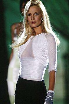 ✿~{FASHION} Favorites `✿⊱╮ **Karen Mudler for Versace** Gorgeous top! HotWomensClothes.com