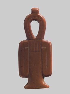 Tyet sign [Egyptian; Abydos, Cemetery D, Tomb 33] (00.4.39) | Heilbrunn Timeline of Art History | The Metropolitan Museum of Art