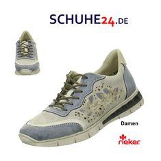 Lässig Und Elegant Frauen Rieker Schuhe Grün Sneakers