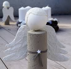 Picture result for angel made of concrete itself - Diy and Crafts for Projects Concrete Projects, Christmas Pictures, Diy And Crafts, Xmas, Creative, Garden Decorations, Handmade, Comme, Stone