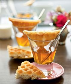 Para os doceiros, mel e waffle em porções individuais