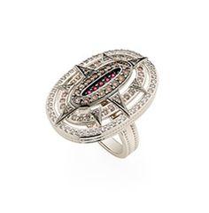 H Stern - anel-de-ouro-nobre-18k-com-rubis,-diamantes-brancos-e-cognac