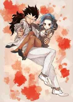 Gajeel and Levy - Fairy Tail
