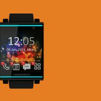 HeadWatch - smartwatch technology, headset design