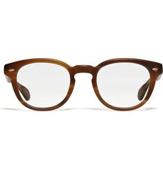 8ad02e99fdf Oliver Peoples Round Tortoiseshell Optical Glasses MR PORTER