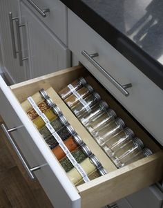 Organization in the kitchen