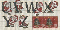 Alfabeto di Babbo Natale
