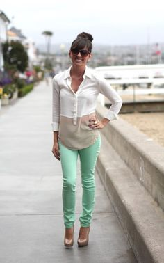 Tips on How to Wear Colored Pants - DesignerzCentral