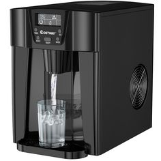 Ice Blocks, Water Cooling, Water Dispenser, Making Machine, Drip Coffee Maker, Multifunctional, Back Home, Save Energy