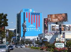 Giant Designated Survivor season 1 billboard Sunset Strip