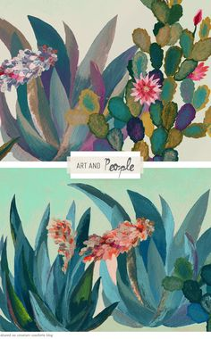 Inspired Artist: Art and People - Home - Creature Comforts - daily inspiration, style, diy projects + freebies