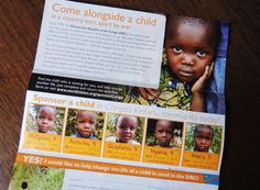 Consider sponsoring a child in the area of  Ledia , Congo! So many kids in need of a sponsor. Search through these kids some have videos. http://myshare.worldvision.org/Everychildmatters