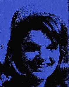Jackie (2) - (Andy Warhol)