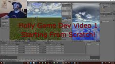 Here's the start of the game's development videos! I take you through the design process as I lay out the base of our game world.