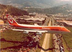 Avianca Colombia vintage 747