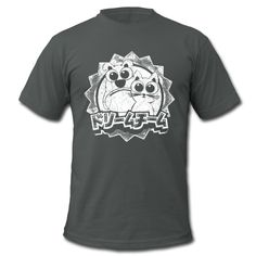 T-Shirt 'Dreamteam (1c white)' http://sixnineline.spreadshirt.de/customize/product/107228813/sb/l/view/1