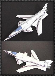 Grumman X-29 Fighter Free Aircraft Paper Model Download