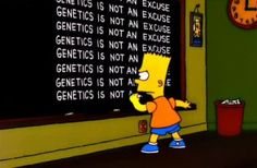 genetics is not an excuse