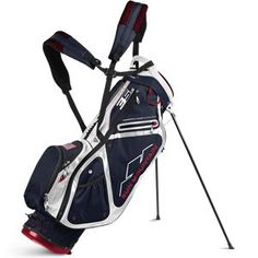 Best Golf Bags | Sun Mountain 35 LS Stand Golf Bag NavyWhiteRed -- You can get more details by clicking on the image. Note:It is Affiliate Link to Amazon.