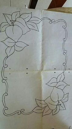 This Pin was discovered by Mom Hand Embroidery Patterns, Applique Patterns, Embroidery Art, Embroidery Stitches, Quilt Patterns, Embroidery Designs, Rosa Stencil, Parchment Design, Point Lace