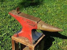 Antique-Trenton-Blacksmith-Anvil