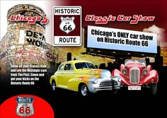 17186	ROADSIDE - ROUTE 66 - US - Car Show	* S - 29x41-