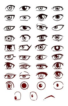 Ever struggling with different eye expressions Pin this eye cheat sheet pa Drawing Cartoon Faces, Cartoon Eyes, Drawing Tips, Drawing Reference, Drawing Tutorials, How To Draw Anime Eyes, Portrait Cartoon, Caricature Drawing, Drawing Expressions
