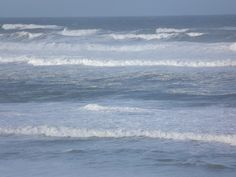 Hurricane swell at Messanges