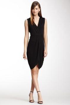 HauteLook   French Connection: Belle Crepe Mix Silk Blend Dress