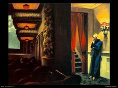 Edward Hopper : New York movie (1939)