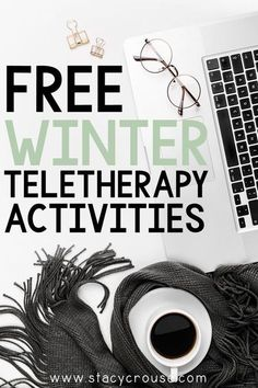 Speech Therapy Activities, Language Activities, Speech Language Pathology, Speech And Language, Winter Activities, Free Activities, Interactive Whiteboard, Tablet Computer, Therapy Ideas