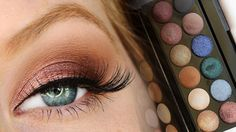 A tutorial and short review with Sleek's i-Divine Storm palette - a cranberry…