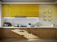 3d visualization of the project in the Room + Kitchen (Borispol) 3d max, render corona render of Conceptvision