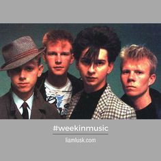 #weekinmusic #greatmusic In #1981 #vinceclarke penned three singles on the #depechemode album #speakandspell - #davegahan #synthpopmusic #newwave #electronicrock #dancerock #alternativerockCheck out the #weekinmusic section of my blog at http://liamlusk.com/category/week-in-music/
