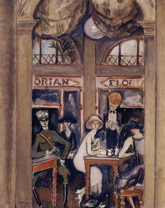 Le Café florian à Venise, 1921 - Kees van Dongen