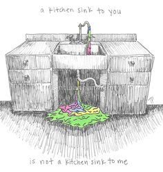 Kitchen Sink by twenty one pilots Illustration