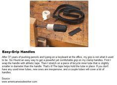 Easy-Grip Handles